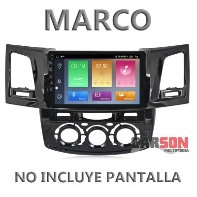 """Marco Adaptador 9"""" Carson para Toyota Hilux"""