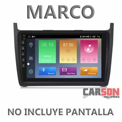 """Marco Adaptador 9"""" Carson para Volkswagen Polo"""