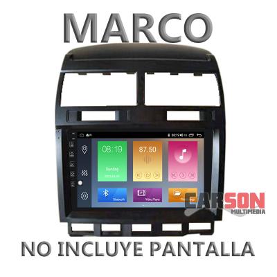 """Marco Adaptador 9"""" Carson para Volkswagen Touareg"""