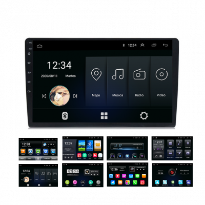 "Pantalla Android Carson - 9"" 1-16 Gb - Serie Q"