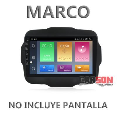 """Marco Adaptador 10"""" Carson para Jeep Renegade 2014"""