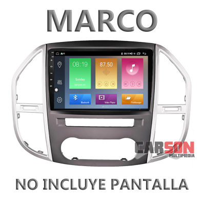 """Marco Adaptador 10"""" Carson para Mercedes Benz Vito W447"""