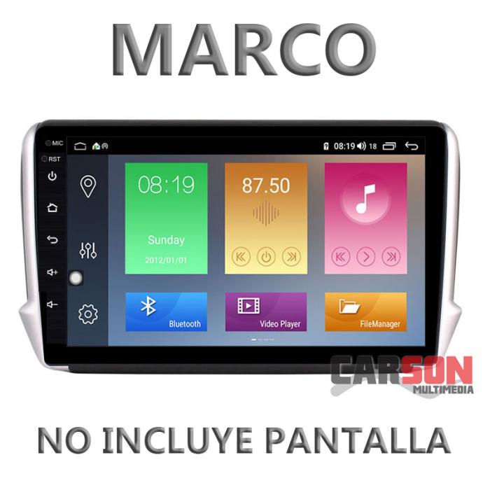"""Marco Adaptador 9"""" Carson para Peugeot 208 - 2008 (2014-2018 )"""