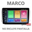 """Marco Adaptador 10"""" Carson para Peugeot 208 - 2008 (2014-2018 )"""