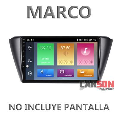 """Marco Adaptador 9"""" Carson para SKODA Fabia 2015"""