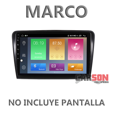 """Marco Adaptador 10"""" Carson para SKODA SuperB 2009 - 2014"""
