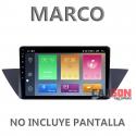 """Marco Adaptador 9"""" Carson para BMW X1 - E84"""
