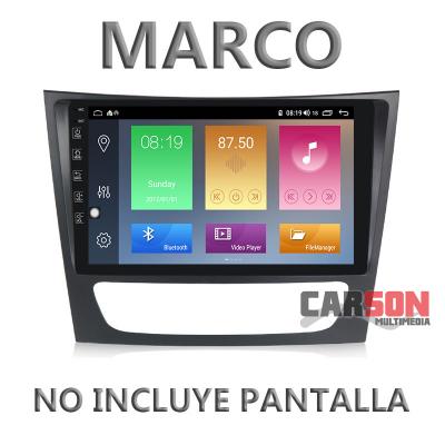 """Pantalla Android Carson - Mercedes Benz Clase E 2005 9"""""""