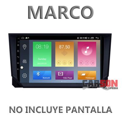 """Marco Adaptador 9"""" Carson para Seat Ibiza 2018"""