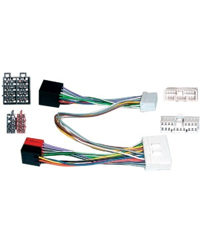CONECTOR DOBLE ISO SSANGYONG/CHEVROLET/DAEWOO