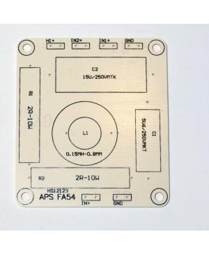 Placa PCB Filtro 1,2,3 Orden