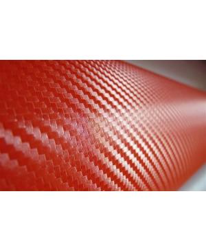 CAR-INTEGRATION Vinilo Carbono Rojo 100 x 152 cm