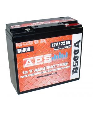 Bateria APS B500A AGM