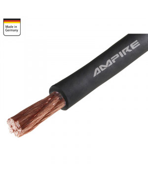 Cable Corriente Negro - XSK10 - 10mm Ampire - Cobre