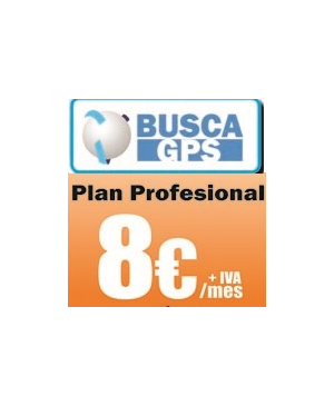 Cuota Localizador BuscaGPS Plan Profesional