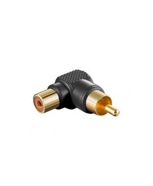 Ampire CV500 Conector Acodado RCA Hembra- RCA Macho