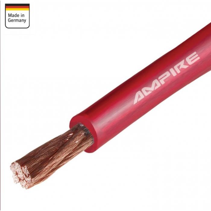 Cable Corriente Rojo - XSK10 - 10mm Ampire - Cobre