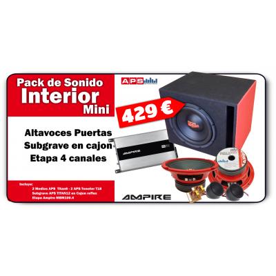 Pack Sonido Interior MiniD