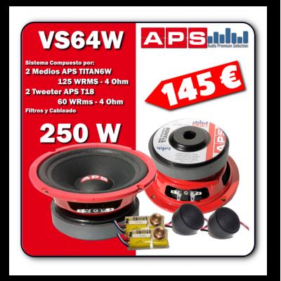 Vias Separadas APS VS64W