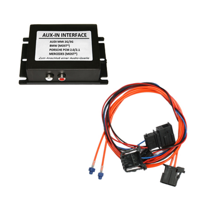 Interface CAS AUX IN para AUDI A4, A5, A6, A8, Q7 con sistema MMI 2G