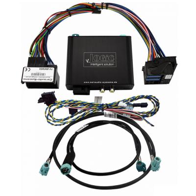 Interface de cámara CAS V5 para BMW Serie F con CIC Navi / Radio PNP