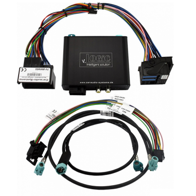 Interface de cámara v.LOGiC V5 para BMW E-Series con CIC Navi / Radio PNP
