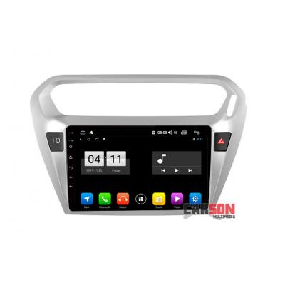 Pantalla Android Carson - Citroen Elysee - 1/16Gb