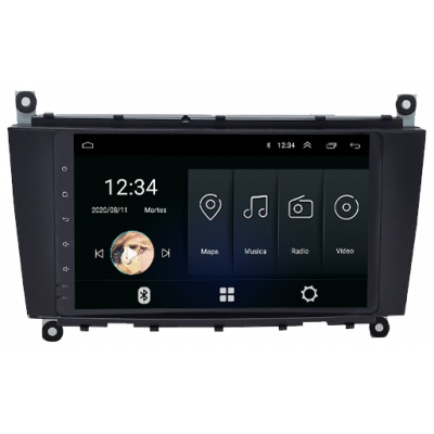 Pantalla Android Carson - Mercedes Benz Clase C 2004 - 1/16Gb
