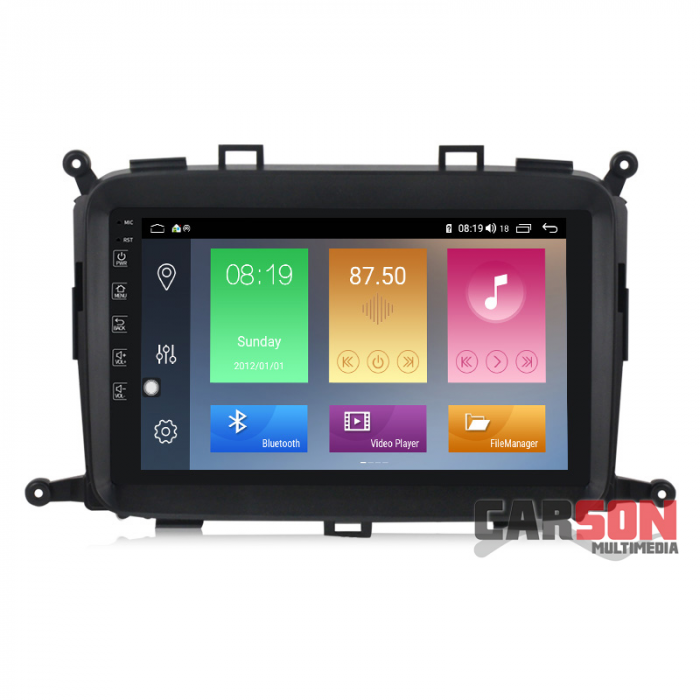 Pantalla Android Carson - KIA CARENS 2013 - 4/64Gb